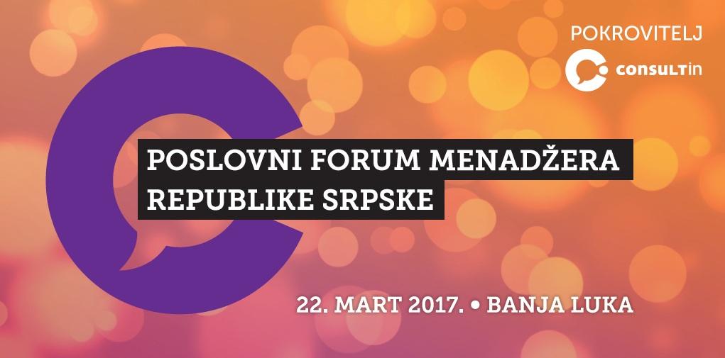 Treći Forum menadžera 22. marta u Banjaluci