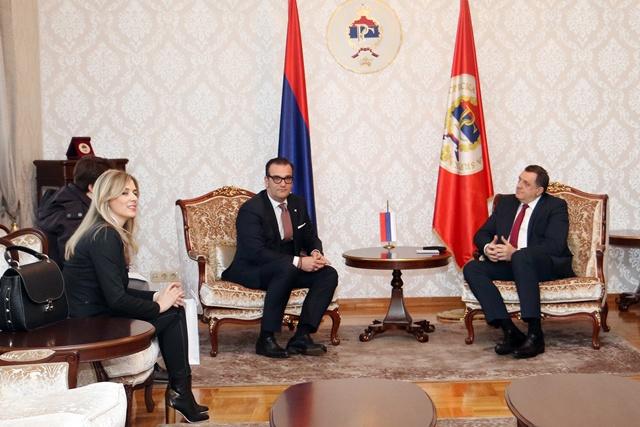 """Dodik danas sa delegacijom """"Hemofarma"""""""