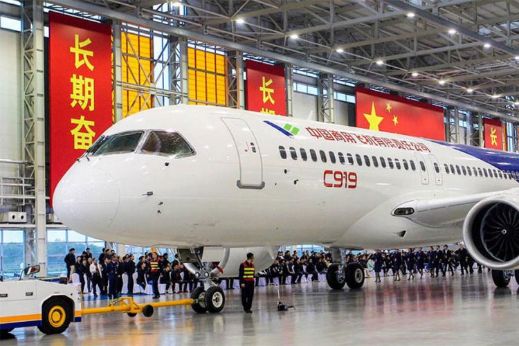 """Kineski odgovor na """"Boing"""" i """"Erbas"""" sprema se za prvi let"""