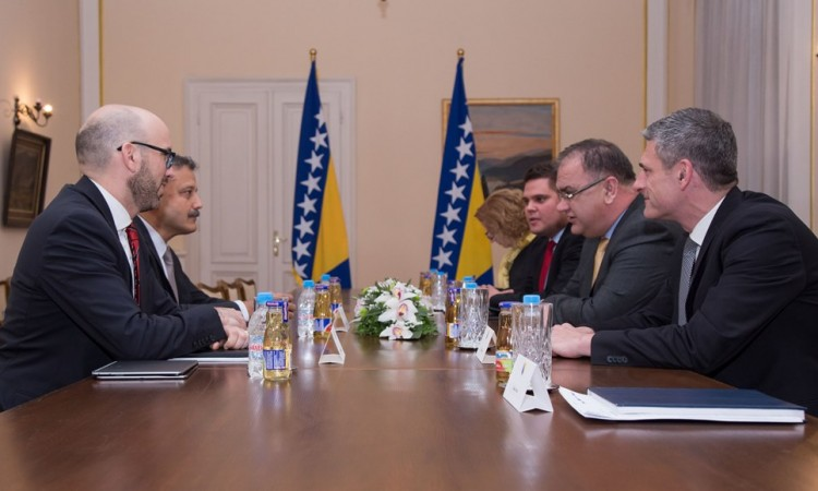 Ivanić razgovarao sa šefom Misije MMF-a u BiH o poboljšanju ekonomskih prilika