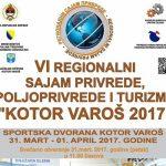 Regionalni sajam privrede, poljoprivrede i turizma od 31. marta