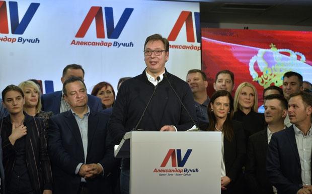 Aleksandar Vučić novi predsjednik Srbije