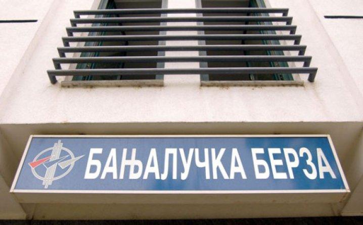 Banjalučka berza: Današnji promet veći od 187.000 KM