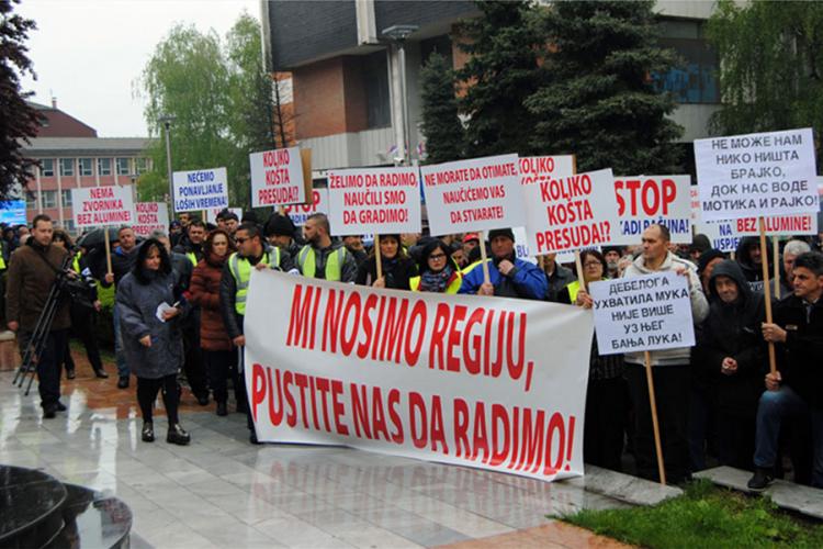 """Motika: Odblokiran račun """"Alumine"""" ili protesti i u Banjaluci"""