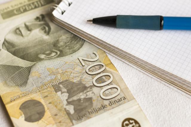 Dinar ojačao prema evru, srednji kurs 118,4110
