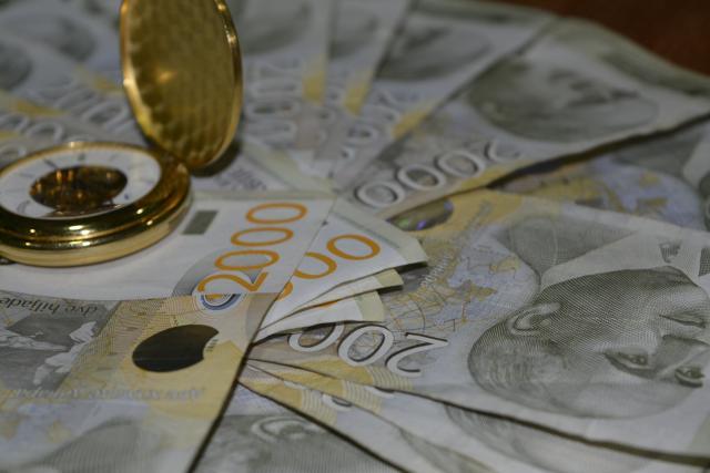 Dinar prema evru na istom nivou, kurs 118,34