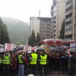 "U centru grada 3.000 radnika ""Alumine"", ""Boksita"" i Rudnika iz Srebrenice"