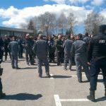 Nezadovoljni drvoprerađivači blokirali saobraćaj na Podromaniji