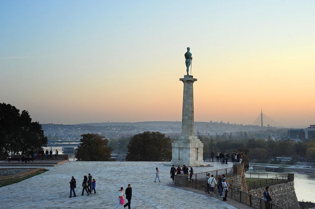Turisti već okupirali Beograd