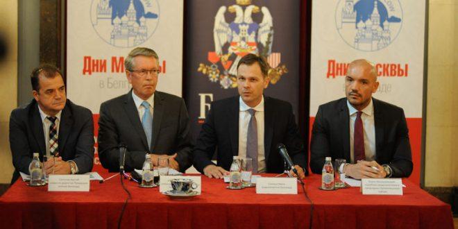 Na poslovnom forumu 200 privrednika iz Beograda i Moskve