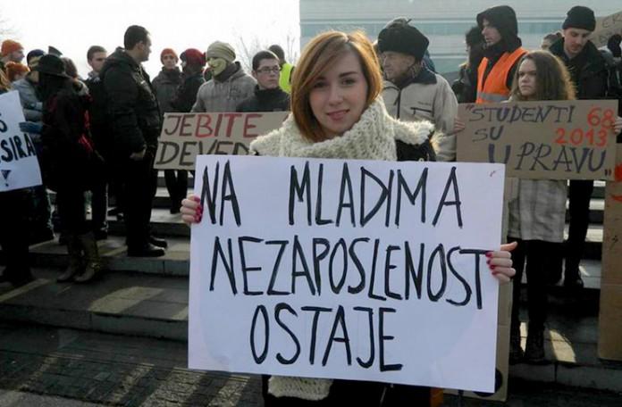 Najveća stopa nezaposlenosti mladih u BiH, Srbija na šestom mjestu