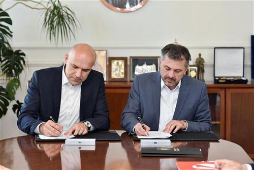 Potpisan ugovor o refinansiranju gradskog duga