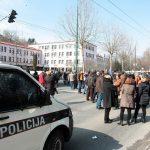 """Nakon protesta radnika """"Željezare"""" u Sarajevu sindikalci kažnjeni"""