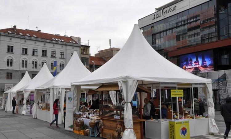 Proizvodi organskog porijekla na 'Urban sajmu' u Sarajevu