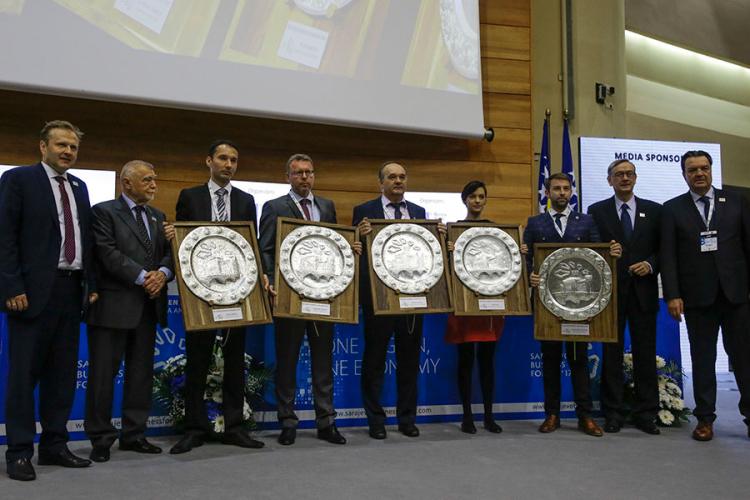 Na Sarajevo Business Forumu dodijeljene nagrade u pet kategorija