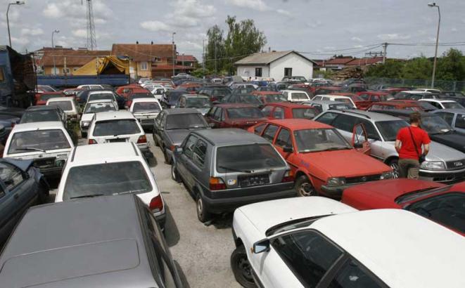 U 2017. godini u BiH uvezeno 11 hiljada novih i 60 hiljada polovnih automobila
