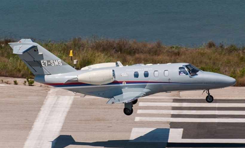 Avion u vlasništvu RS u protekloj sedmici intenzivno letio prema moru