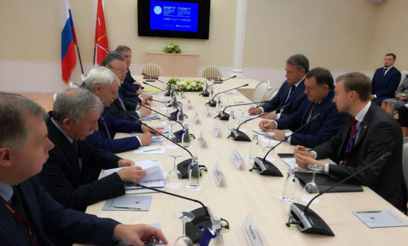 Dodik na ekonomskom forumu u Sankt Peterburgu