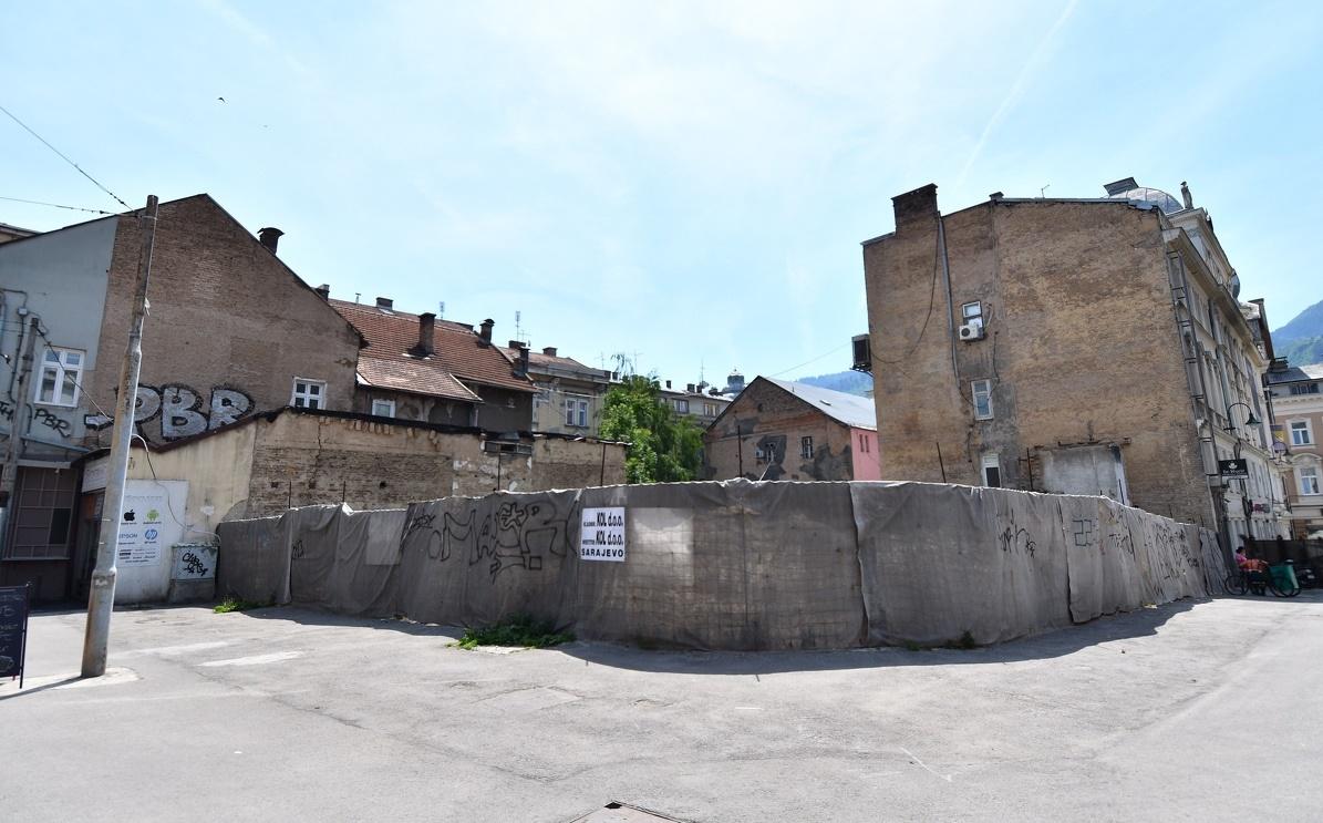 Ni godinu dana nakon najave nije počela izgradnja hotela Hilton u Sarajevu