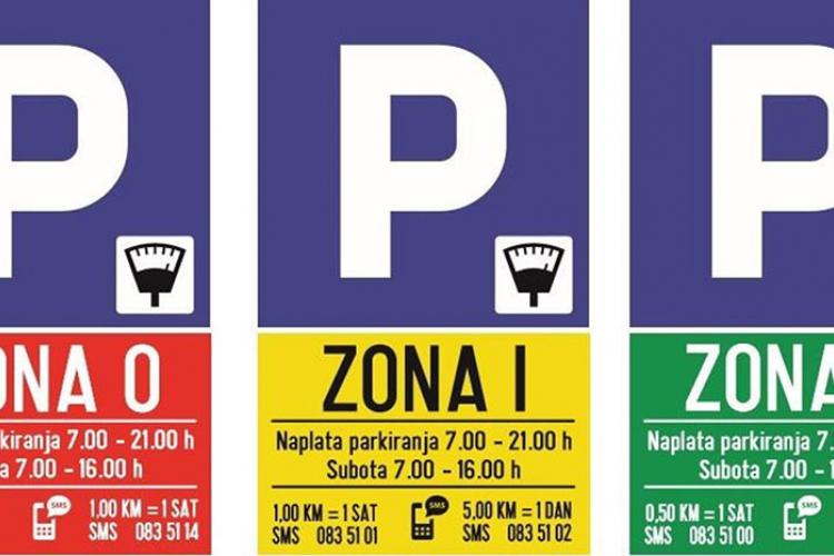 Od danas nulta zona parkiranja u Banjaluci