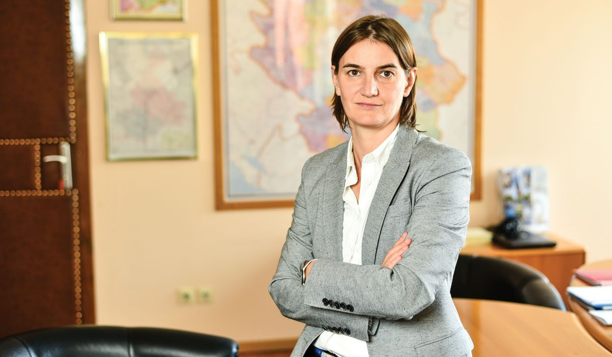 Brnabić predložila sinišu malog za ministra finansija