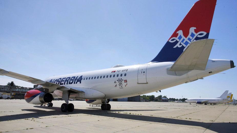 Povećan broj letova između Beograda i Tivta