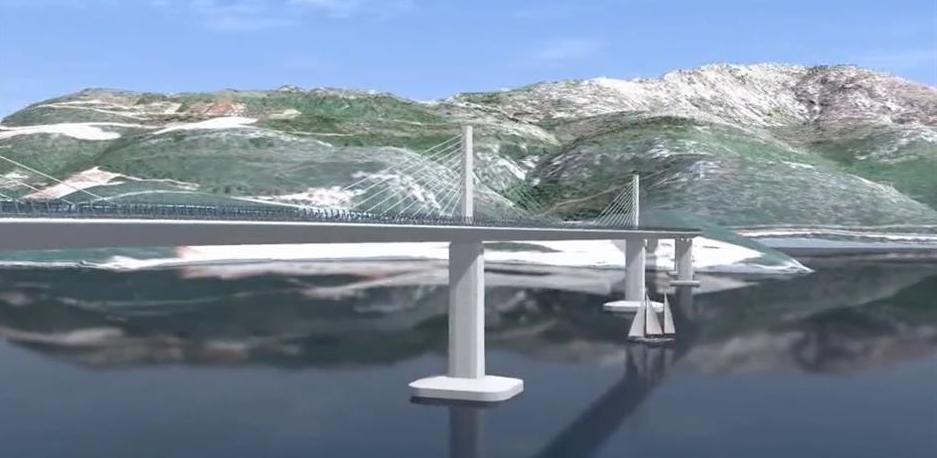U toku uvođenje izvođača u posao izgradnje Pelješkog mosta