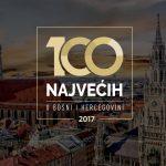 Grad Beč podržao projekat '100 najvećih u BiH'