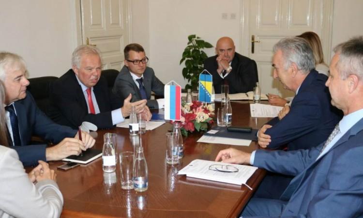 Šarović i Ivancov razgovarali o pristupanju Bosne i Hercegovine WTO-u