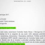 MMF pisao Zvizdiću – ugrožena nezavisnost Centralne banke