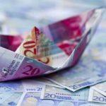 Evro prema franku najjači od šoka 2015. godine
