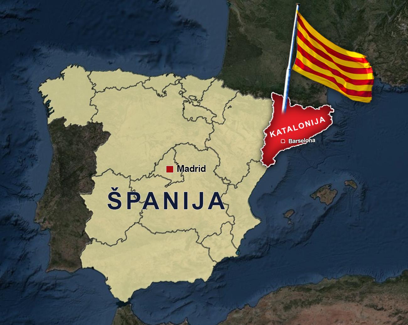 """""""Katalonska kriza može da ugrozi cijelu Evropu"""""""