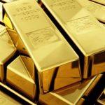 Rusija gomila zlatne poluge