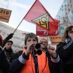Radnici Siemensa zbog najavljenih otpuštanja blokirali ulice Berlina