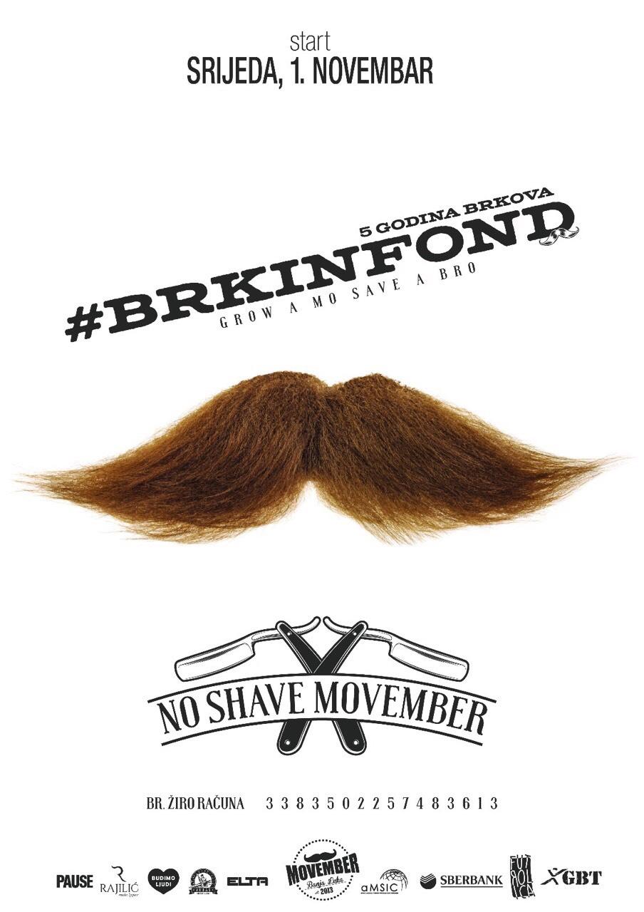 """Sberbank Banjaluka drugu godinu zaredom podržava akciju """"Movember"""""""