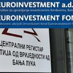 "Uprava tužila ""Euroinvestment fond"" i CRHOV za 2,2 miliona KM"