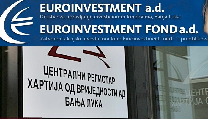 """Akcionaru """"Euroinvestment fonda"""" omogućeno učešće u milionskom sporu"""