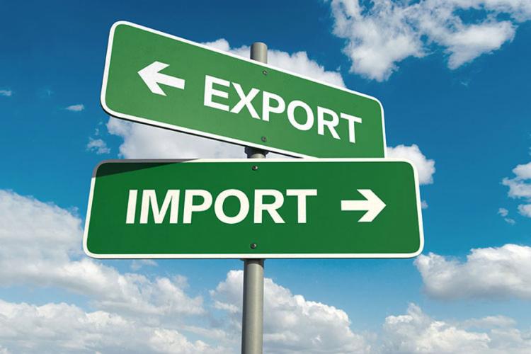 Povećan robni izvoz za 7,6 odsto