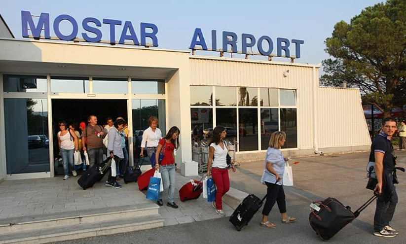 Održan štrajk upozorenja Sindikata Međunarodne zračne luke Mostar