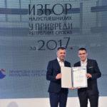 """""""Vitinki"""" uručena nagrada za najuspješnije preduzeće u RS"""