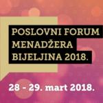 Poslovni forum menadžera – sinergija teorije, iskustva i dobre prakse
