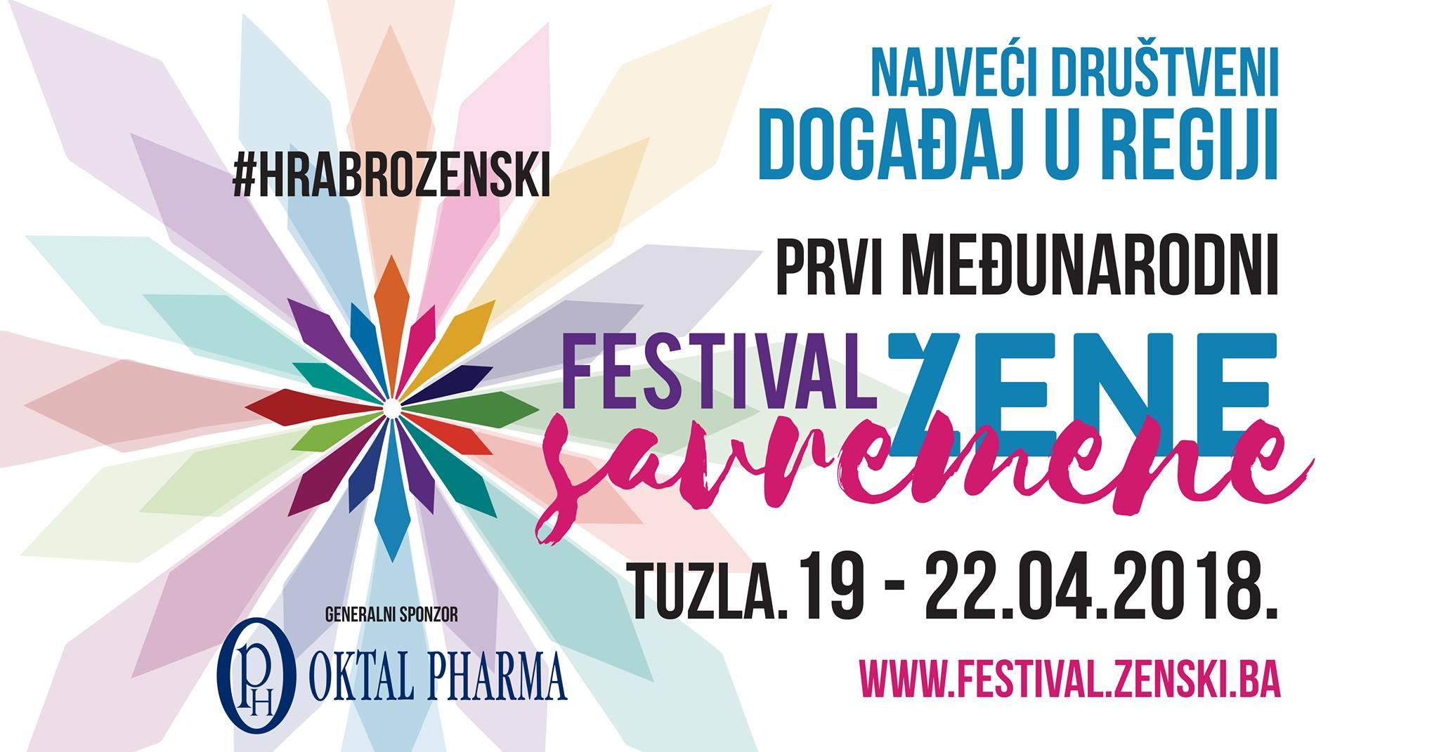 Medjunarodni festival savremene žene u Tuzli od 19. do 22. aprila