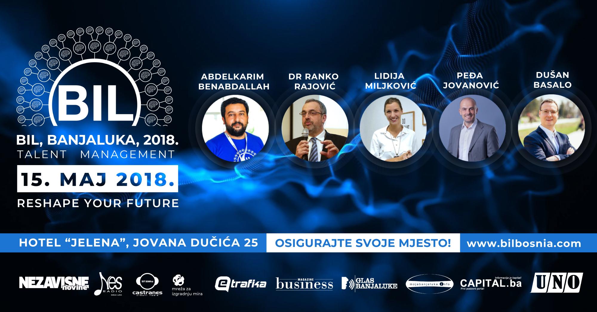 BIL – Banjaluka 2018. okuplja stručnjake iz HR-a i talent menadžmenta