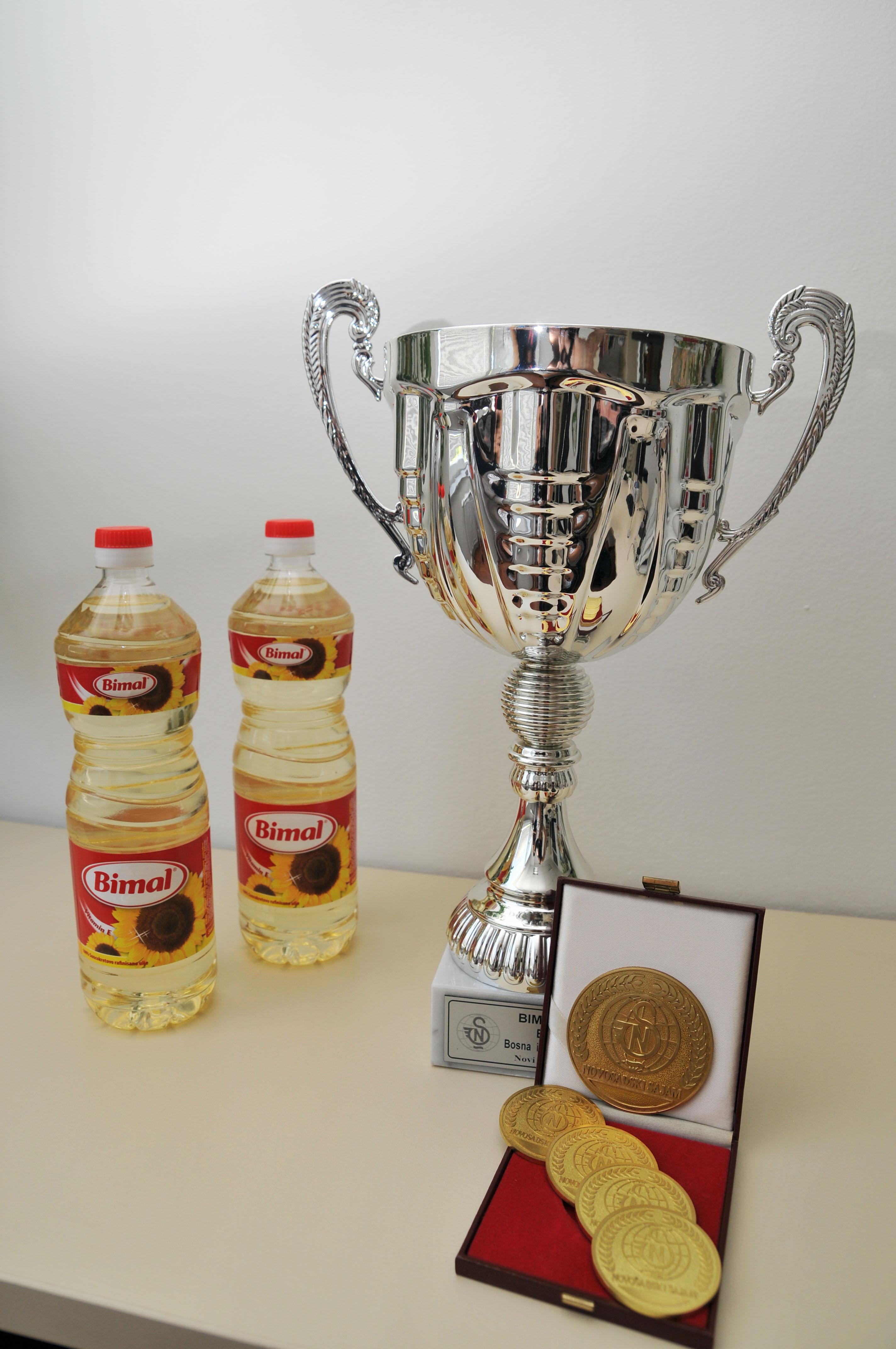Kvalitet BIMAL ulja ponovo nagrađen zlatom