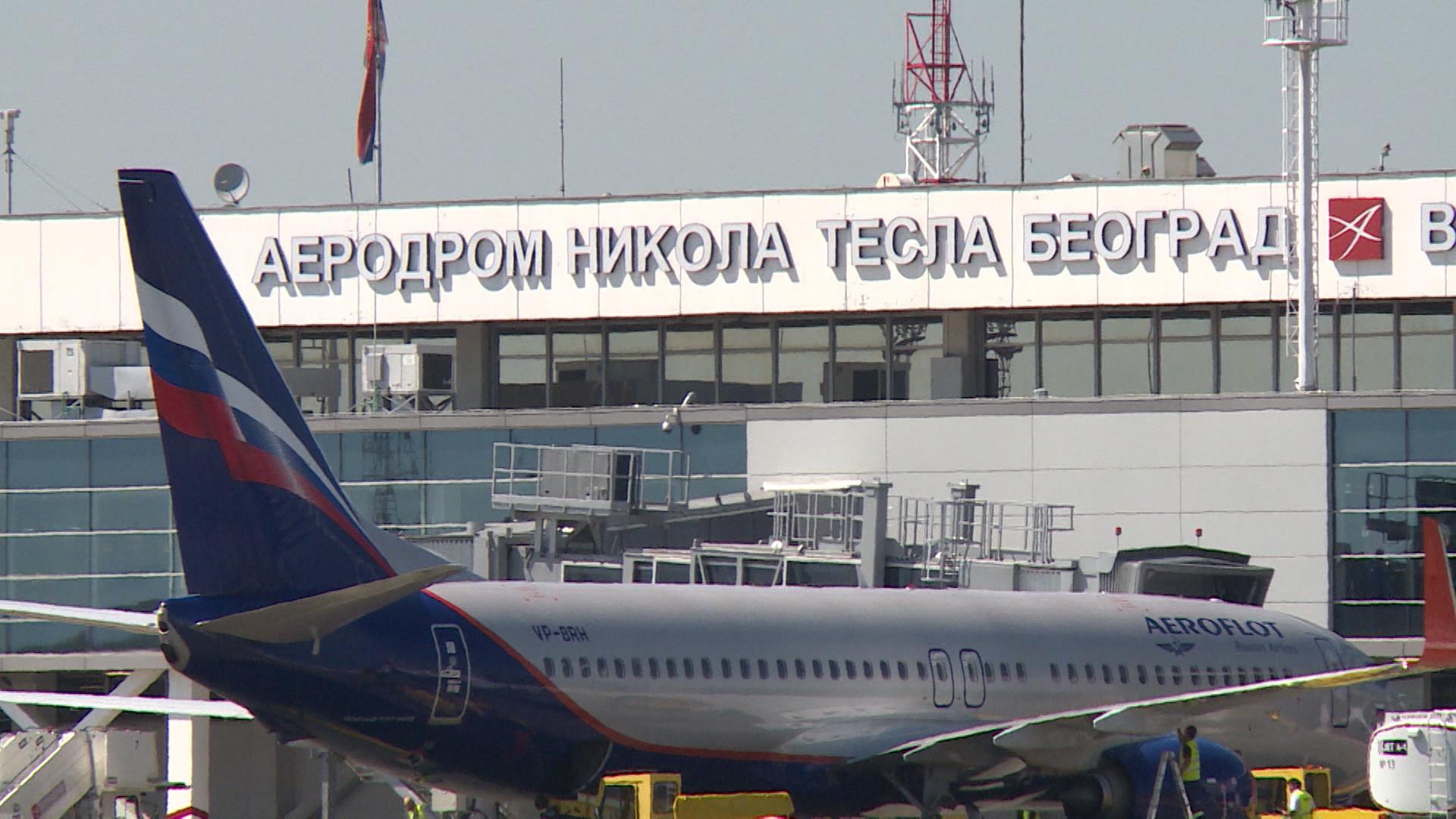 Aerodrom Nikola Tesla Beograd: Povećan broj putnika, slijetanja i polijetanja