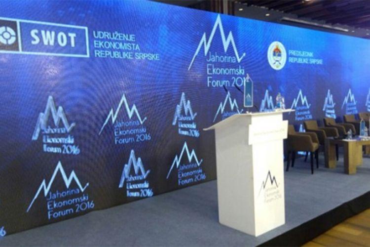 Grabovac: Novine na Trećem Јahorina ekonomskom forumu