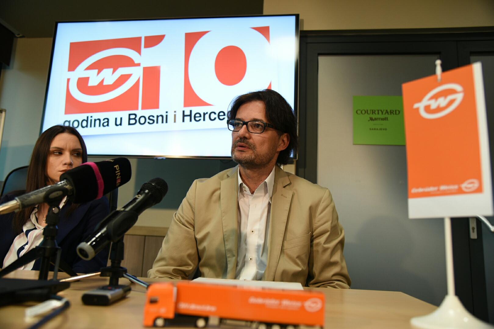 Gebrüder Weiss obilježava uspješnu prvu deceniju poslovanja u BiH