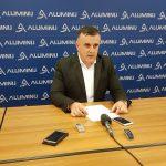 Gadžić: Predsjednik sindikata tražio 8 500 evra za zaposlenje u Aluminiju