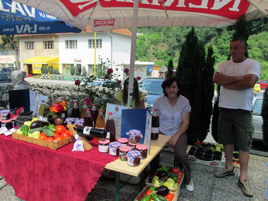 U Srebrenici predstavljene rukotvorine i organski proizvodi