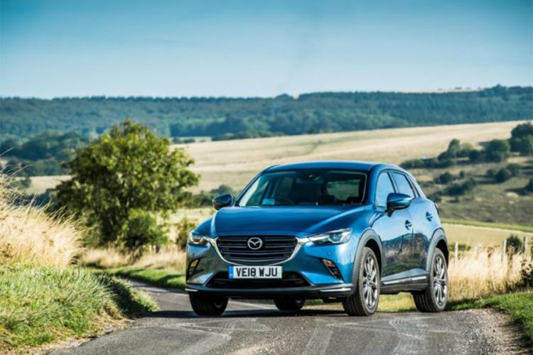 Osvježena Mazda CX-3 stiže u Evropu